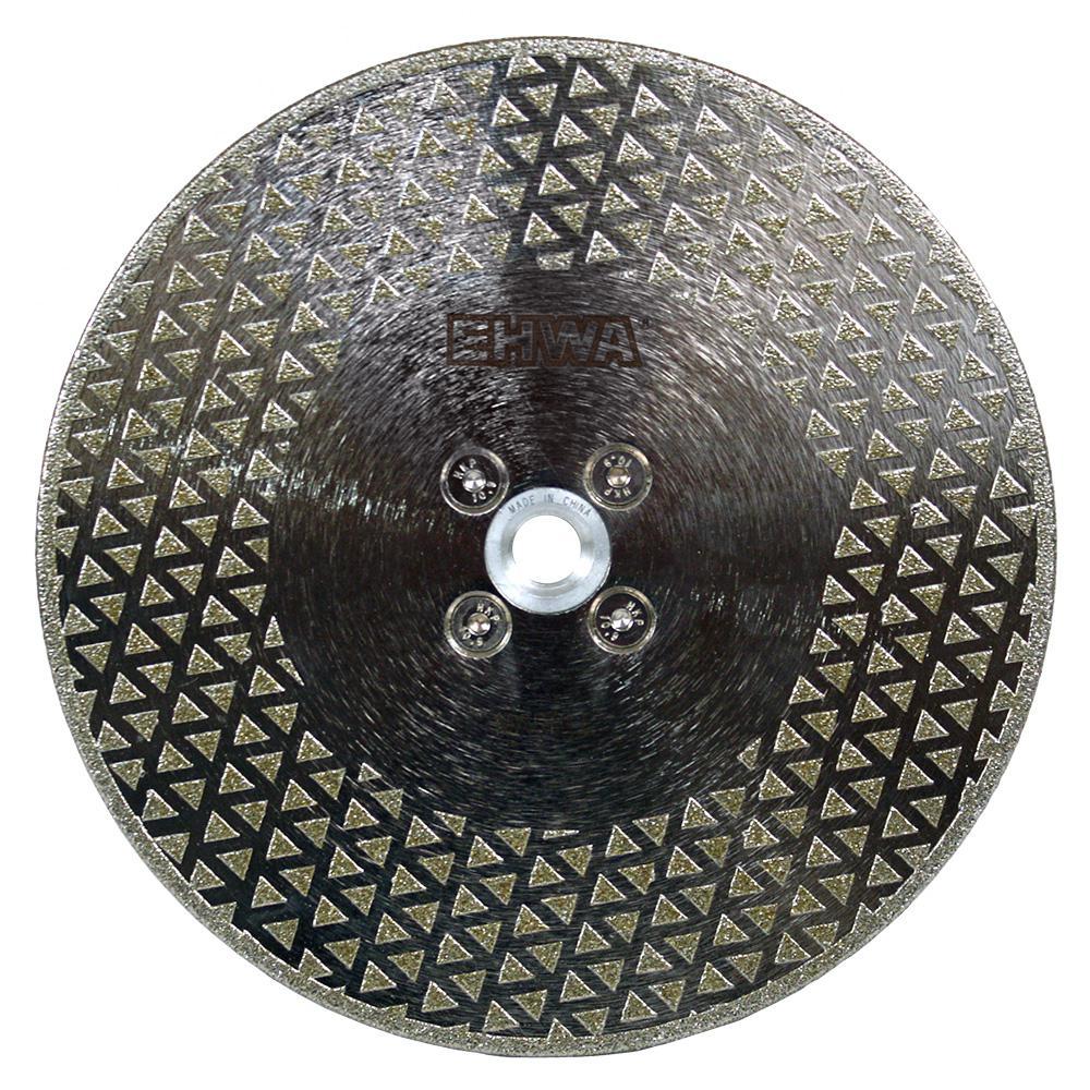 Гальванические алмазные отрезные диски