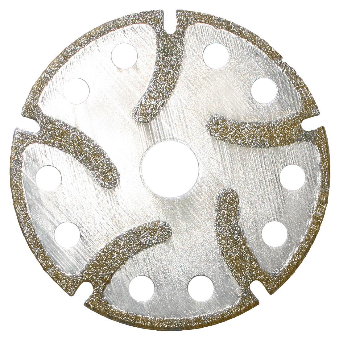 Алмазные отрезные диски с боковым алмазным напылением