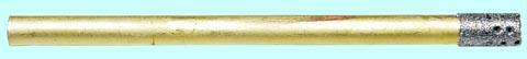Сверло d 1,5(1,2) трубчатое перфорированное с алмазным напылением АС20  80/63 2-слойное