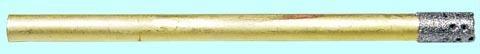 Сверло d 3,0(2,7) трубчатое перфорированное с алмазным напылением АС20  80/63 2-слойное