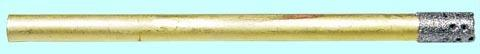 Сверло d 2,0(1,5) трубчатое перфорированное с алмазным напылением АС20 125/100 2-слойное