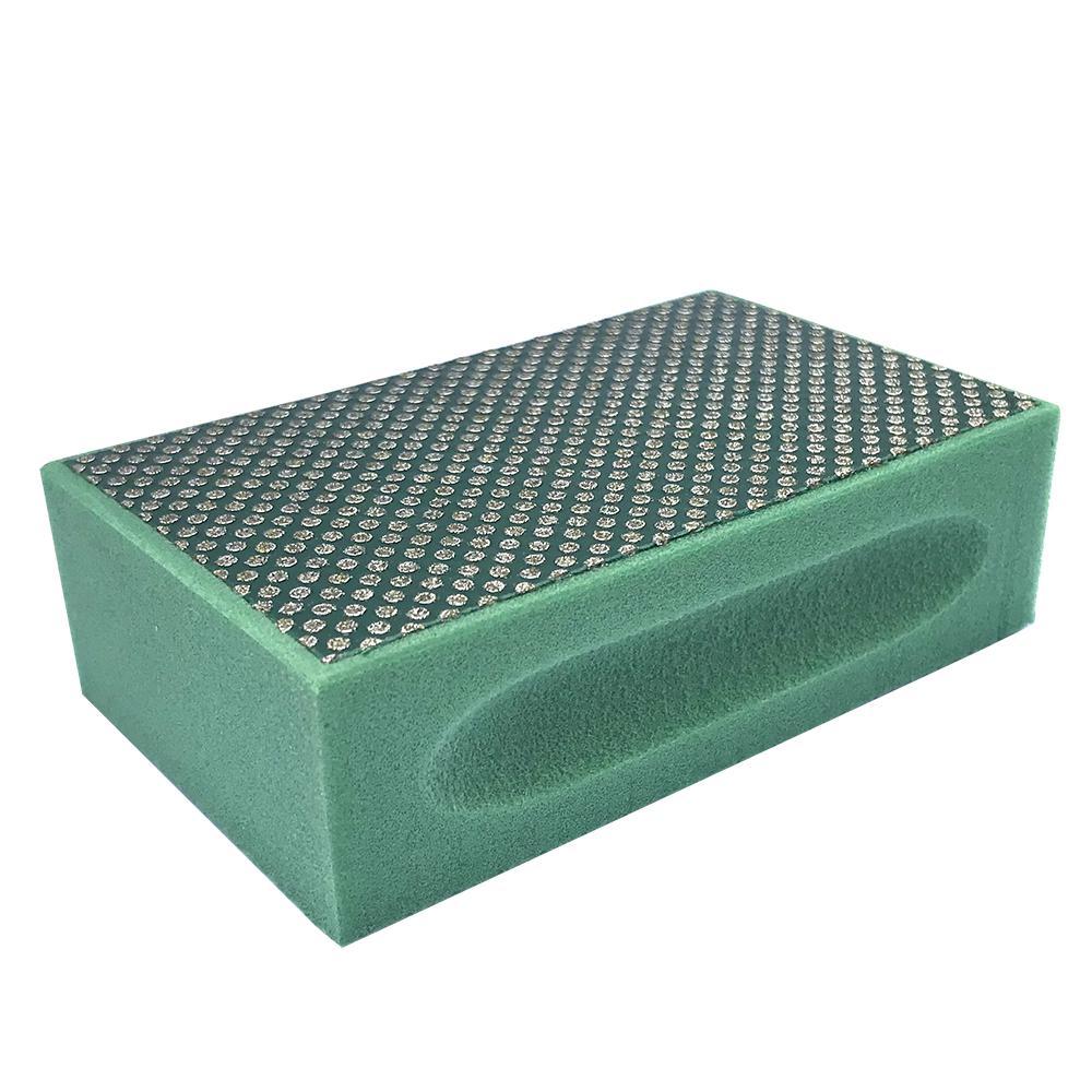Затир ручной (прямой профиль) зерно 60 (зеленая, металл)
