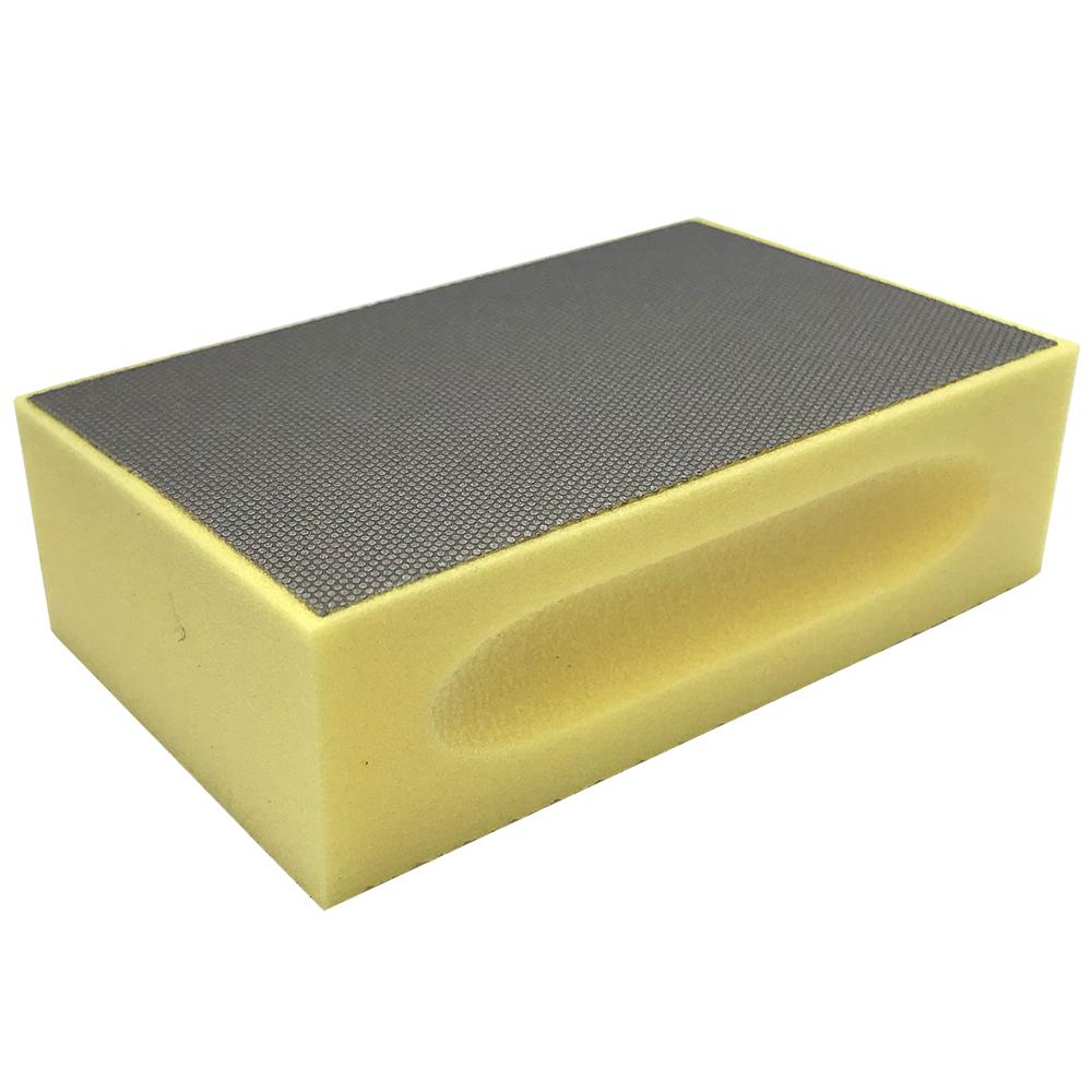 Затир ручной (прямой профиль) зерно 400 (желтая, металл)