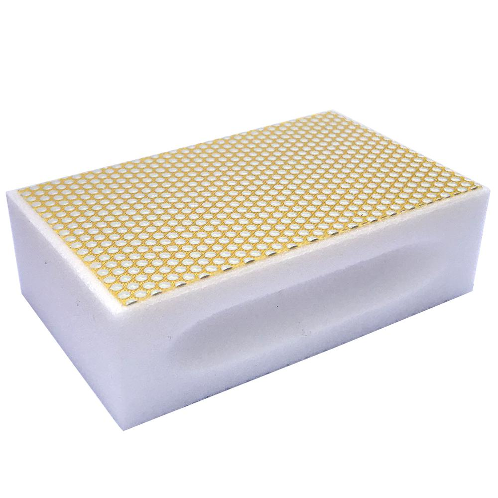 Затир ручной (прямой профиль) зерно 500 (белая, полимер)