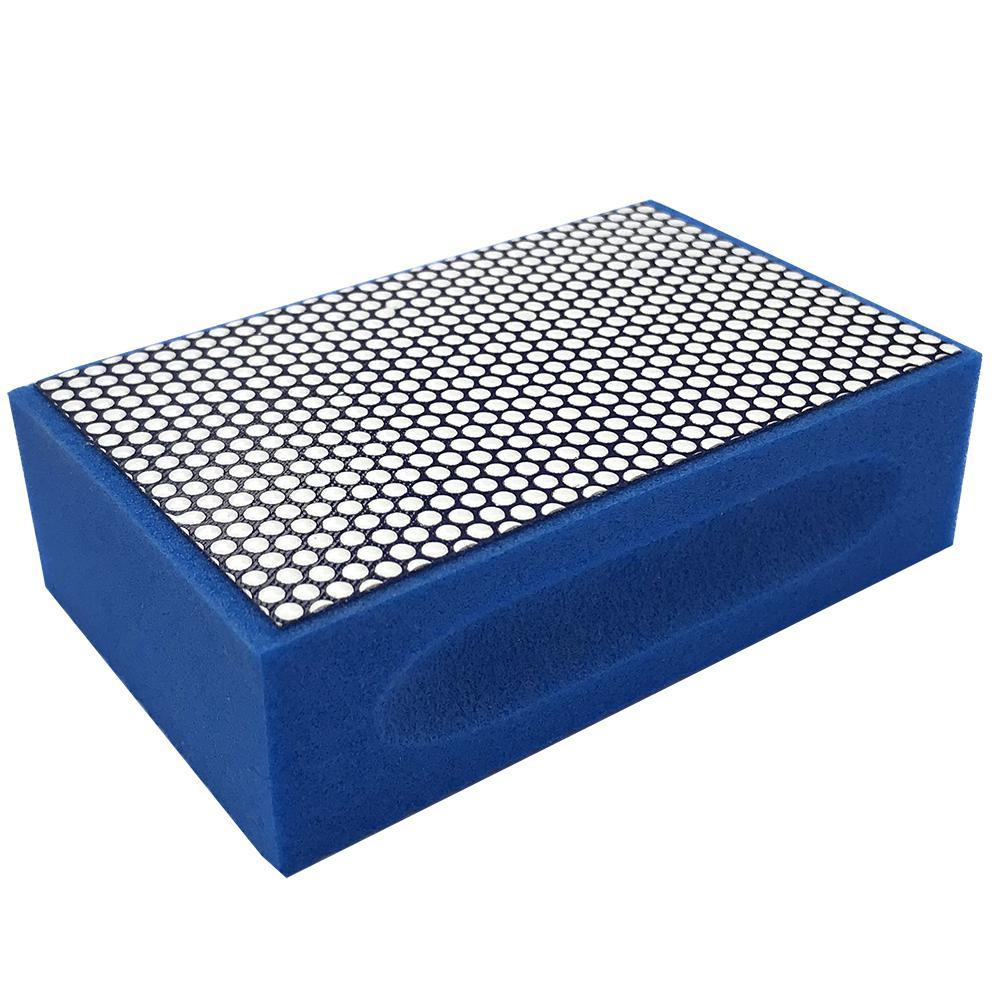 Затир ручной (прямой профиль) зерно 1000 (синяя, полимер)