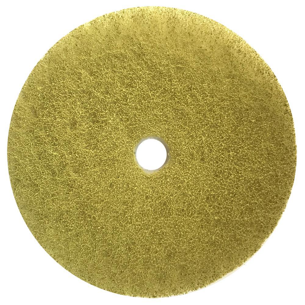 Композитный пэд, желтый №3 Ø 100 мм