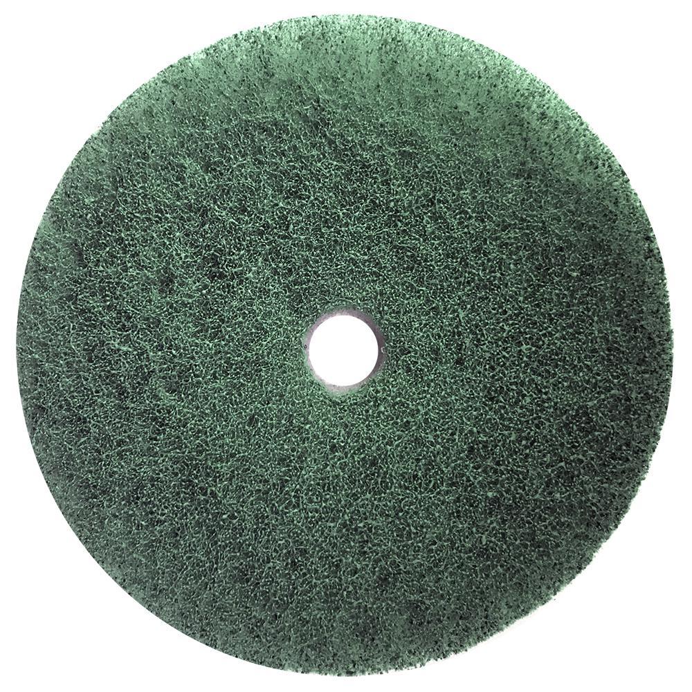 Композитный пэд, зеленый №4 Ø 100 мм