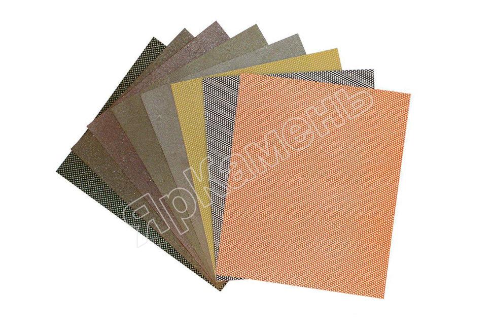 Алмазная наждачная бумага SORMA №8 (оранжевая полимер) Р-р: 90х75 мм. #8000