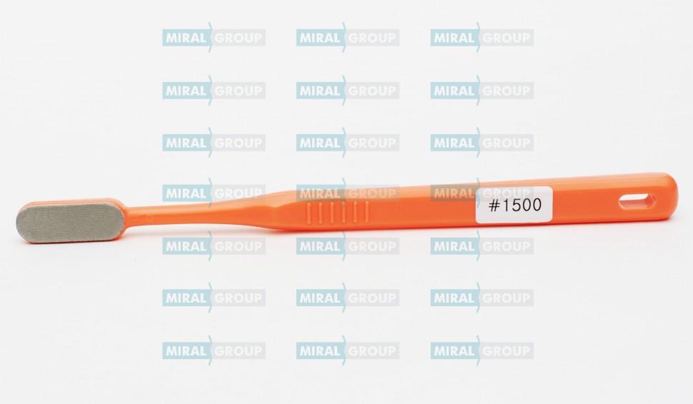 Щетка алмазная, напильник, мини-притиры, зернистость 1500