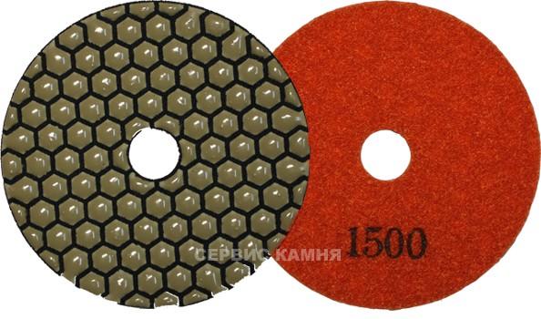 Алмазный гибкий шлифовальный диск JA 100x2,3 dry №1500 (Китай)