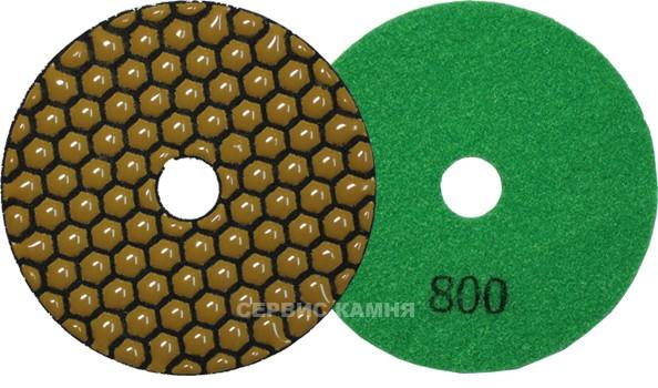 Алмазный гибкий шлифовальный диск JA 100x2,3 dry №800 (Китай)