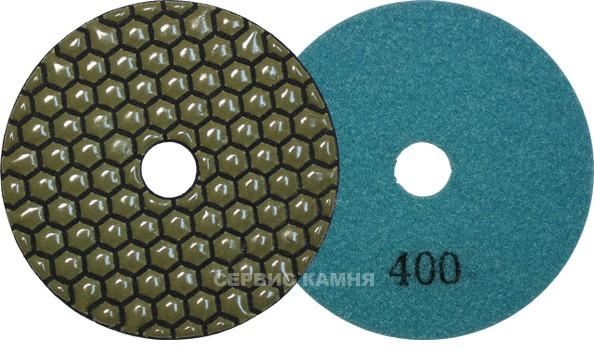 Алмазный гибкий шлифовальный диск JA 100x2,3 dry №400 (Китай)