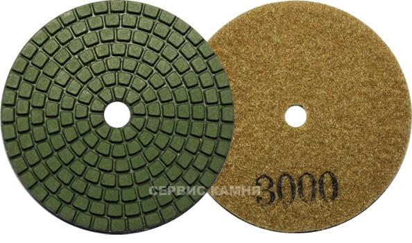 Алмазный гибкий шлифовальный круг NG тип А wet 80x2,2 №3000 (Китай)