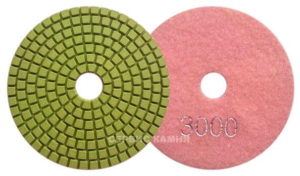 Алмазный гибкий шлифовальный круг DY 100x4,0 wet №3000 (Китай)