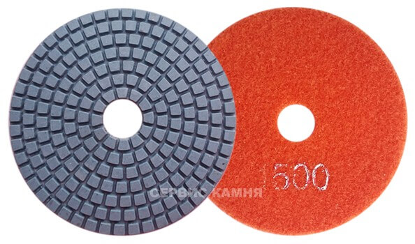 Алмазный гибкий шлифовальный круг DY 100x4,0 wet №1500 (Китай)