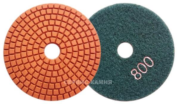 Алмазный гибкий шлифовальный круг DY 100x4,0 wet №800 (Китай)