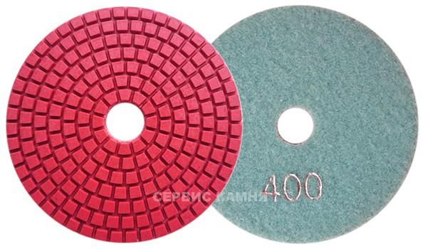 Алмазный гибкий шлифовальный круг DY 100x4,0 wet №400 (Китай)