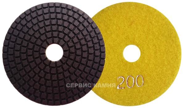 Алмазный гибкий шлифовальный круг DY 100x4,0 wet №200 (Китай)