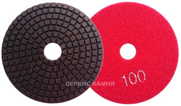 Алмазный гибкий шлифовальный круг DY 100x4,0 wet №100 (Китай)