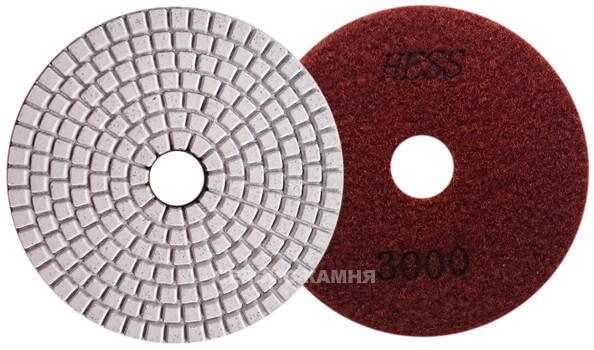 Алмазный гибкий шлифовальный круг EXIN 100x3,5 wet №3000 (Китай)