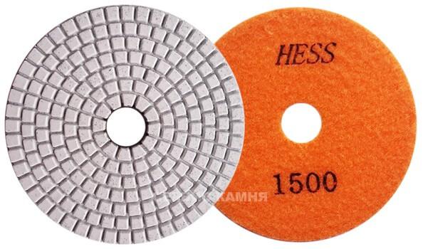 Алмазный гибкий шлифовальный круг EXIN 100x3,5 wet №1500 (Китай)