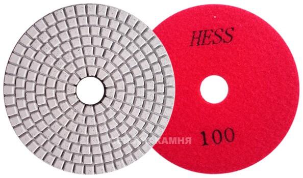 Алмазный гибкий шлифовальный круг EXIN 100x3,5 wet №100 (Китай)