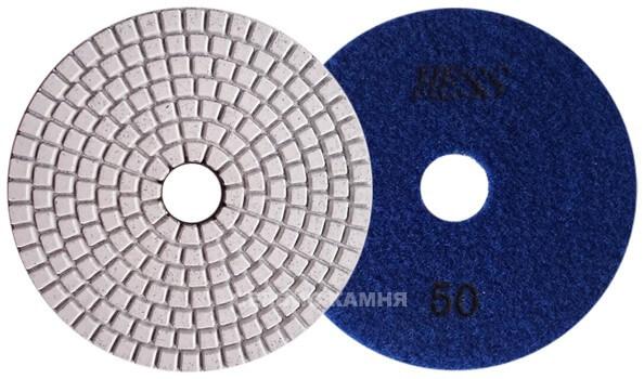 Алмазный гибкий шлифовальный круг EXIN 100x3,5 wet №50 (Китай)