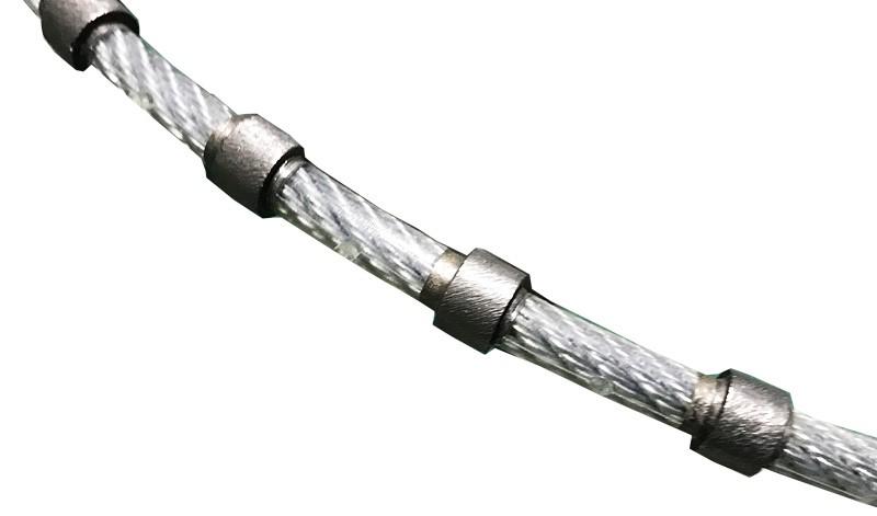 Алмазный канат для распиловки гранита диаметр 8,3 мм 1 м.