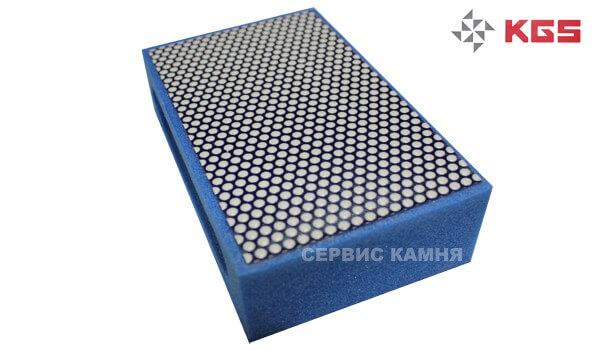 Губка алмазная №1500 KGS (синяя)