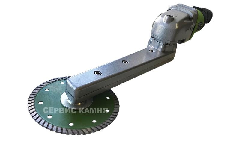 Угловая шлифовальная машина (болгарка) с удлиненной рабочей частью