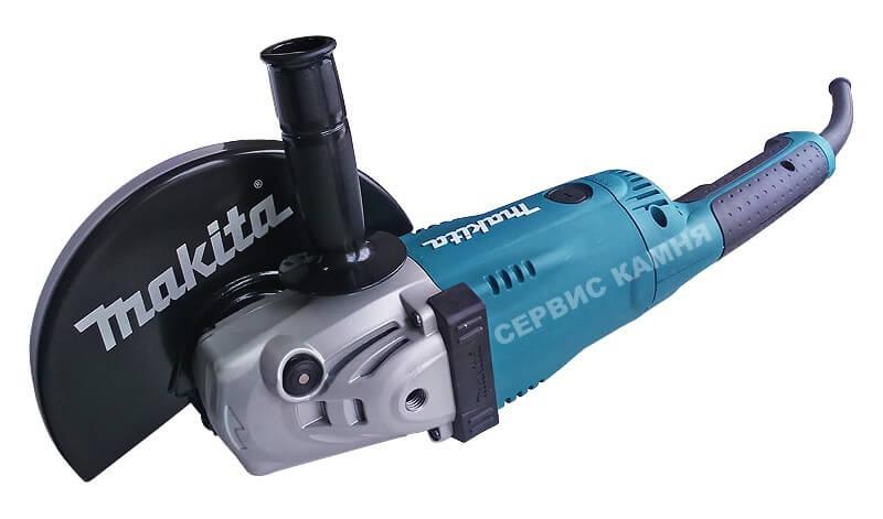 Угловая шлифовальная машина (болгарка) Makita GA9020SF (230 мм)