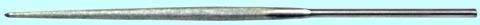Надфиль Алмазный полукруглый L120 АС 6 160/125 1,9кар. 37128