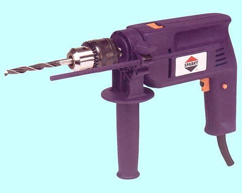 "Электродрель ""Sparky"" BU101,500 Вт, 2800об/мин, ударно-вращат, d13мм."