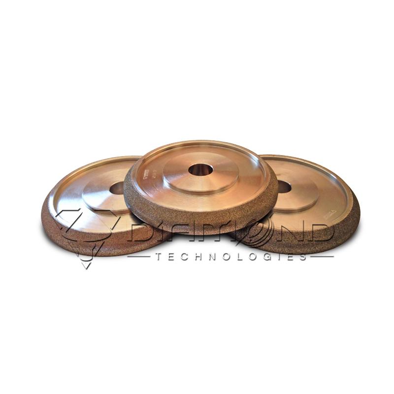 Эльборовый (боразоновый) круг для заточки ленточных пил 150x20 шаг 22.2 WM 10/30 (CBN)